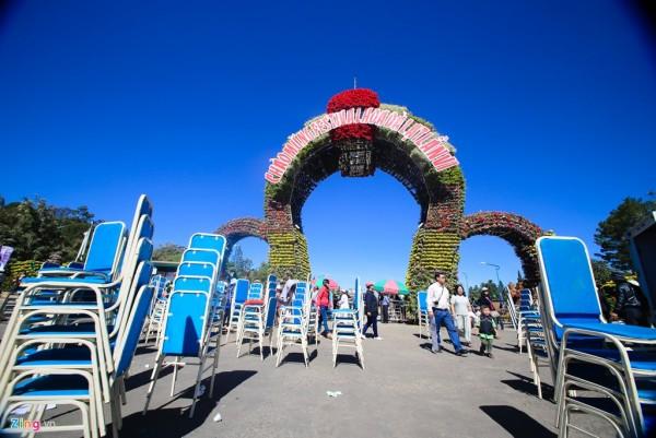 Đà Lạt rực rỡ trước giờ khai mạc Festival hoa 2015