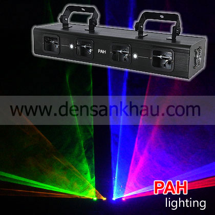 Đèn laser 4 cửa Yellow Blue Red Green