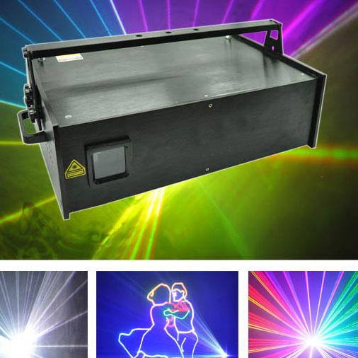 Đèn laser 7 màu giá rẻ có nhiều công suất chọn lựa đây