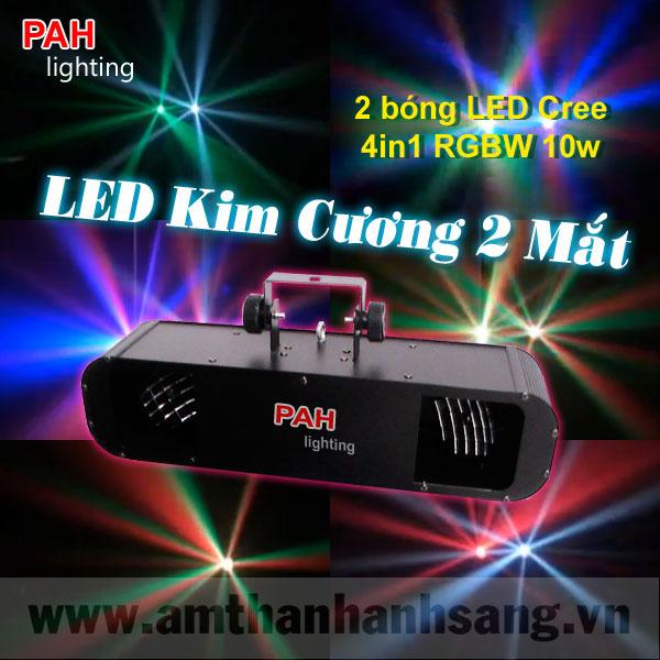 LED kim cương 2 mắt (new)