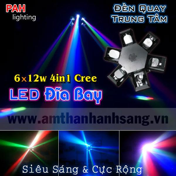 Đèn LED đĩa bay