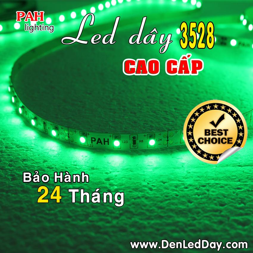 LED dây 3528 Green Xanh lá