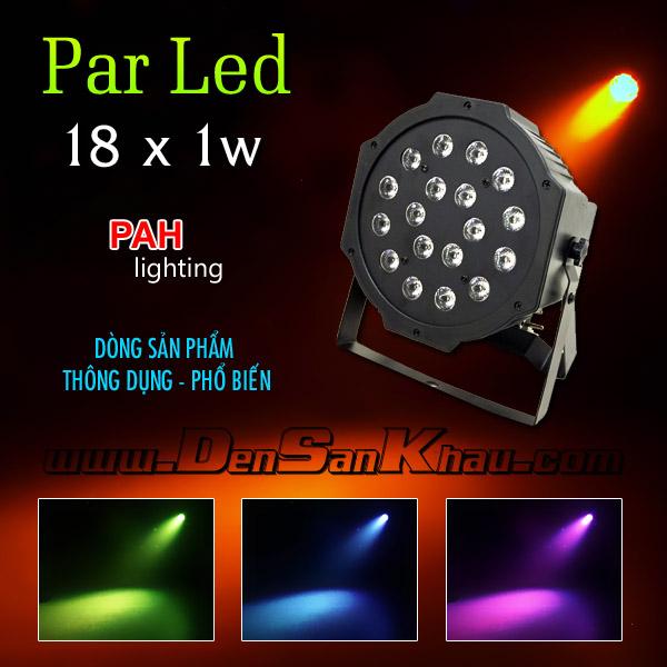 Đèn Par LED 18 * 1w