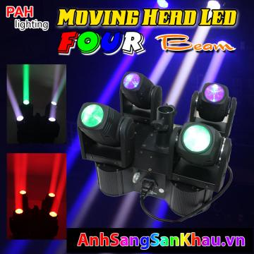 Đèn Moving lead four beam full color