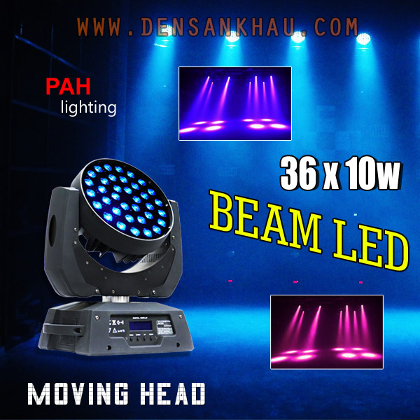 Moving Head Zoom LED 36x10w