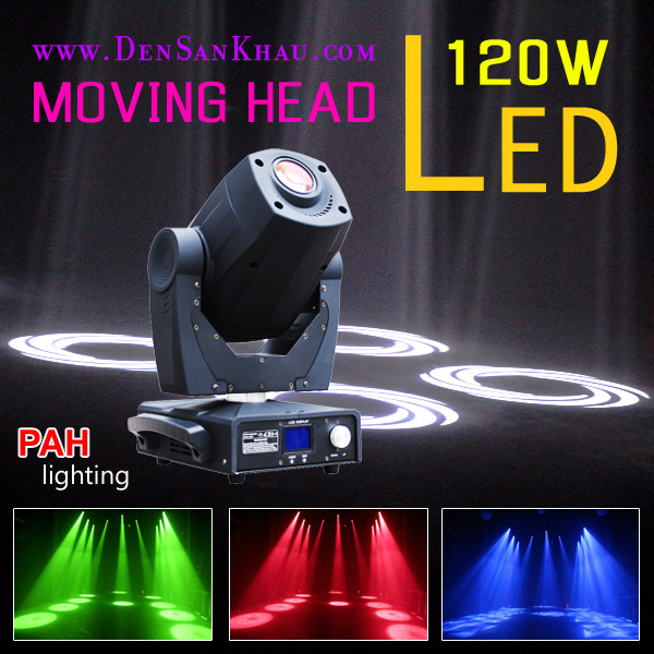 Đèn moving head led 120w