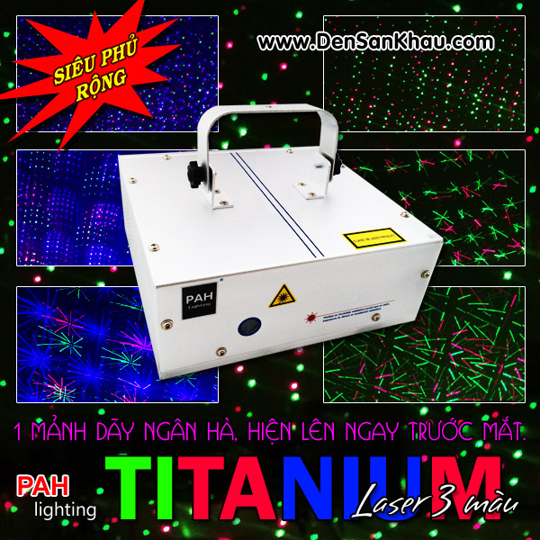 Máy chiếu laser hiệu ứng Titanium