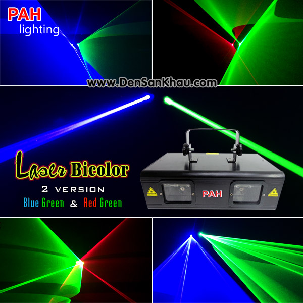 Đèn laser Bicolor Red Green