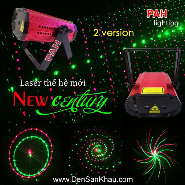 Máy chiếu laser mini New Century B 2 mắt 3D