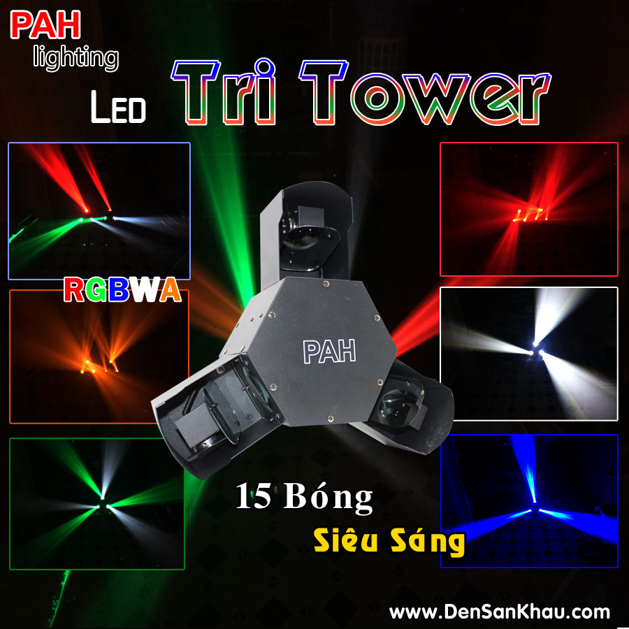 Đèn LED Tri Tower siêu sáng