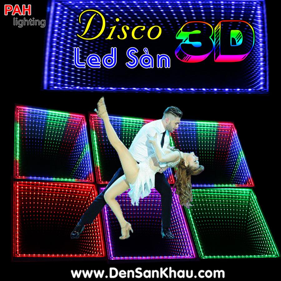 LED sàn Disco 3D