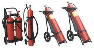 Bình bột chữa cháy loại xe đẩy ST03
