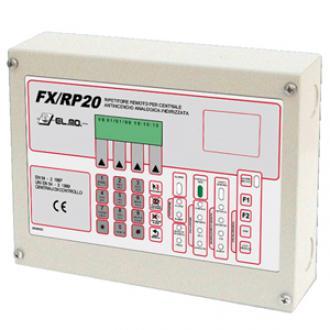 Tủ báo cháy phụ ( hiển thị LCD và điều khiển chức năng) Nittan FX/RP20