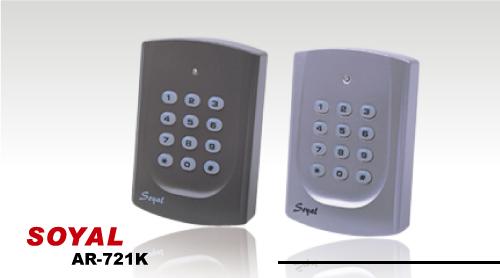 Đầu đọc thẻ cảm ứng kiểm soát ra vào cửa SOYAL AR-721K