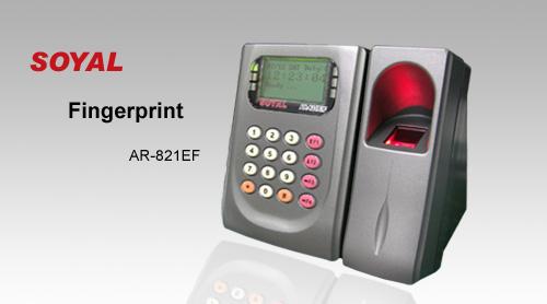 Đầu đọc vân tay và thẻ cảm ứng kiểm soát ra vào cửa AR-821EF
