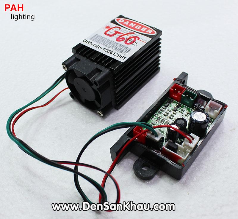 Bóng laser Green 60mw